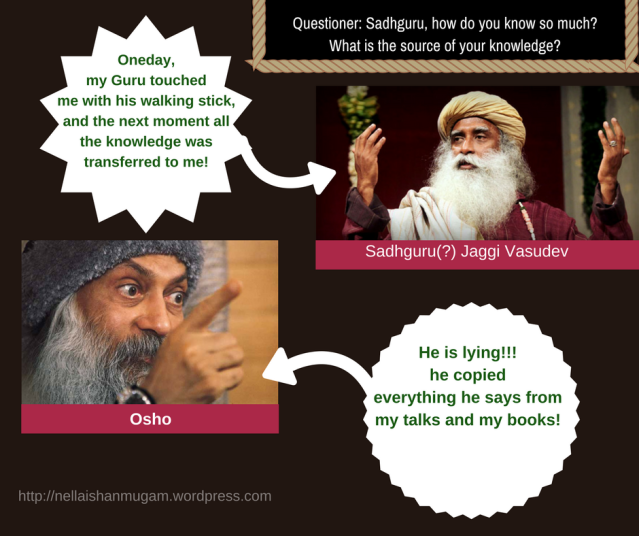Sadhguru Jaggi Vasudev On Osho The Two Diamonds To Discover Your Inner Self Shanmugam S Blog