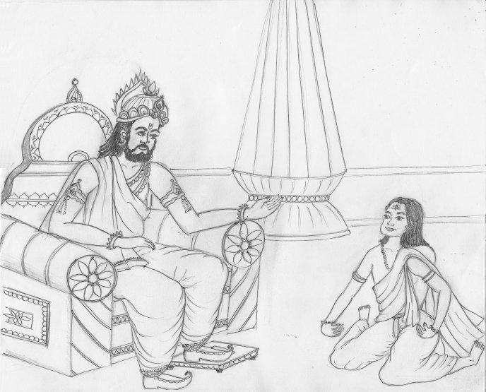 Ramabhadracharya_Works_-_Painting_in_Ashtavakra_(2010)