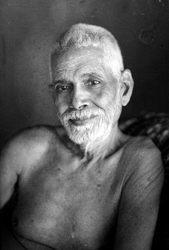 Sri_Ramana_Maharshi_-_Portrait_-_G._G_Welling_-_1948