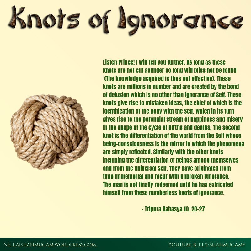 knots of ignorance