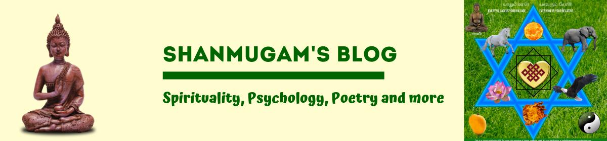Shanmugam's Blog